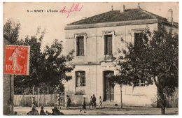 Algérie /  RIVET -- L' Ecole . - Other Cities