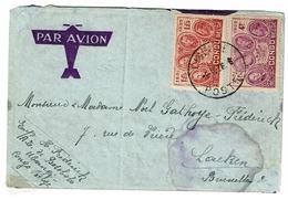 C  186 Et 190  Lettre  De Ubangi Vers Laeken