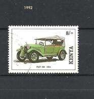 KENYA   1992 Cars  Fiat 509 From  1924  **used - Kenya (1963-...)