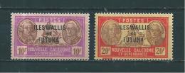 Wallis Et Futuna  Taxes De 1930/38  N°64/65   Neufs * - Wallis Y Futuna