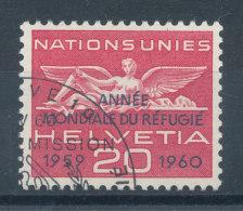 Suisse Service N°408 (o) Année Du Réfugié - Service