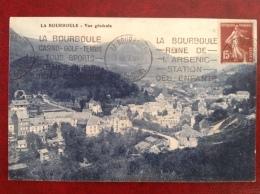 63 LA BOURBOULE EMA Flamme Golf Tennis Reine De L'ARsenic - La Bourboule