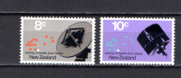 New Zealand 1971 Space Set Of 2 MNH