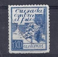 150025784  ESPAÑA  EDIFIL  CRUZADA CONTRA EL FRIO  Nº  2 - Bienfaisance