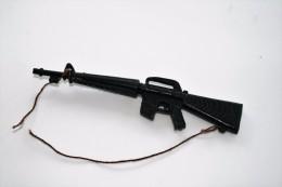 Vintage MEGO PARTS - PLANET OF THE APES - M16 GUN - Mego 1974 - Action Man - Action Man
