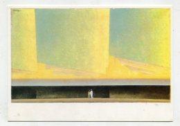 PAINTING - AK 276116 Lyonel Feininger - Wolken über Dem Meer I - Peintures & Tableaux