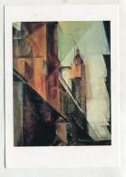 PAINTING - AK 276117 Lyonel Feininger - Marktkirche In Halle An Der Saale - Peintures & Tableaux