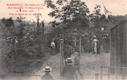 - BLAMONT   -  Distribution Des Prix De La Société De Tir Blamont-Cirey En 1906 - Visite Du Stand Par Les Autorités - France