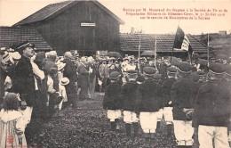 BLAMONT - Remise Par M. MAZERAND Du Drapeau à La Société De Tir De Blamont-Cirey En 1910 Sur Le Terrain De La Société - France