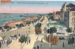 -33- ARCACHON Place Thiers Et Nouvelles Promenades - Timbrée TTB - Arcachon