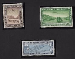 NEWFOUNDLAND 1931 Airmail Set 15c/$1 MNH** POST OFFICE FRESH - UNITRADE C$ 400 - 1857-1861