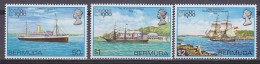 Bermuda 1980 London 1980 3v   Only The Ships Of The Set Of 4 ** Mnh  (31359) - Bermuda
