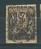 "VEND BEAU TIMBRE DE FRANCE N°97 , CACHET ""GARE DE BELFORT"" !!!! - 1876-1898 Sage (Type II)"