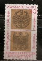 R.F.A.  N°   448  OBLITERE - [7] République Fédérale