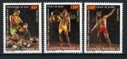 2002 - POLINESIA FRANCESE - FRENCH POLYNESIA - Scott  Nr. 829/831 - NH - ( **) - (K-EA-372270) - Polinesia Francese