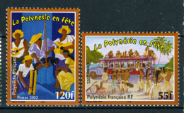 2002 - POLINESIA FRANCESE - FRENCH POLYNESIA - Scott  Nr. 840/841 - NH - ( **) - (K-EA-372270) - Polinesia Francese