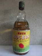 Très Rare BOUTEILLE ANCIENNE RHUM ROCROY De 1950 Introuvable - Spirits