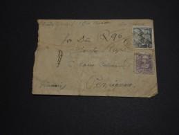 ESPAGNE - Enveloppe De Barcelone Pour La France En 1946 Avec Censure Militaire - A Voir - L 901 - Republikanische Zensur