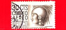 MESSICO - Usato - 1950 - Immagini Locali - Cuauhtemoc - 30 P. Aerea - México