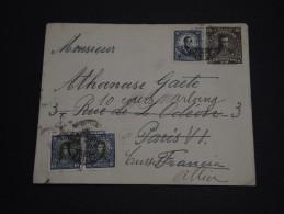 CHILI - Entier Postal + Complément Pour La France En 1924 - A Voir - L 918 - Chili