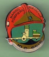 MARINS POMPIERS DE MARSEILLE *** 10e COMPAGNIE SSIS *** A052 - Pompiers