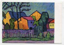 PAINTING - AK 276205 Gabriele Münter - Abendsonne - Paintings