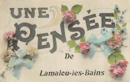 LAMALOU LES BAINS UNE PENSEE - Lamalou Les Bains