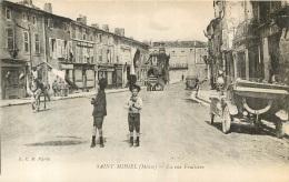 SAINT MIHIEL LA RUE FRUITIERE - Saint Mihiel