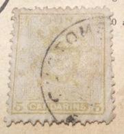"Chine China Customs Post 1885-88 Small Dragon 5 Ca ""CUSTOMS"" Cds, Unusual ! + VARIETY T18 (BITCOIN) - Chine"