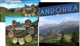 ** ANDORRE **   NOUVEAU Et RARE BLISTER  EUROS BU. 8 Piéces NEUVES Officielles  2015 - Dispo. De Suite - Andorre