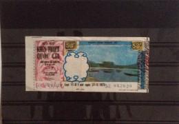 Lotterie / Lottery Of South Vietnam Viet Nam Open On 27 Nov  1973 - Lottery Tickets