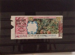 Lotterie / Lottery Of South Vietnam Viet Nam Open On 11 Dec 1973 : Rose Farm - Lottery Tickets