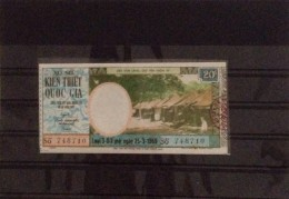 Lotterie / Lottery Of South Vietnam Viet Nam Open On 25 Mar 1969 - Lottery Tickets