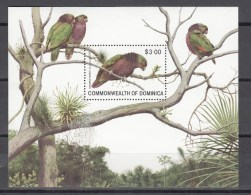 Dominica 1981,1V In Block,birds,vogels,vögel,oiseaux,pajaros,uccelli,aves,,MNH/Postfris(L2431) - Unclassified