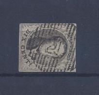 N°6 GESTEMPELD D21 Havelanges MET 4 MARGES COB € 10,00 SUPERBE - 1851-1857 Medaillen (6/8)