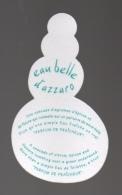 Carte Parfumée   Eau Belle D'Azzaro - Modernes (à Partir De 1961)