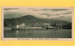 ONEGLIA - IMPERIA CARTOLINA MIGNON - EPOCA 1920  RARA - EDIZ. BERNARDINI - Imperia