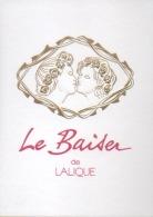 Carte Parfumée   Le Baiser De Lalique - Cartes Parfumées