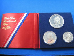 U.S. - 1976 SILVER CLAD 3 COIN PROOF SET    (cn) - Federal Issues