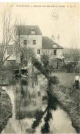 CPA 95  PONTOISE MOULIN RUE DES DEUX PONTS 1904 - Pontoise