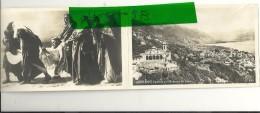 LOCARNO CARTOLINA  DOPPIA----FINZI-- ANNI  1940 - TI Ticino