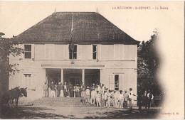 LA REUNION SAINT BENOIT LA MAIRIE CPA ANIMEE - Saint Benoît