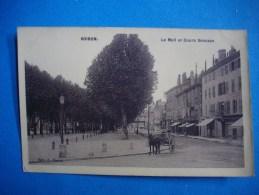 VOIRON  -  38  -  Le Mail Et Cours Sénozan  -  Isère - Voiron