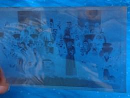 Negatif 5.5x 8.5cm- Personnages Religieuxhommes Avec Chapeaux Et Blaude - Unclassified