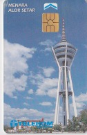 MALAYSIA Alor Setar Kedah Tower Chip Telekom Phonecard Used - Malaysia