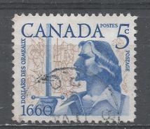 Canada 1960, Scott #390 Dollard Des Ormeaux And Battle Scene (U) - 1952-.... Règne D'Elizabeth II