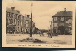 MONTMARTIN SUR MER - La Route De GRANVILLE - Montmartin Sur Mer