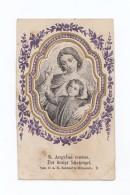 S. Angelus Custos, Der Heilige Schukengel, Image Pieuse Gravure, éd. Benziger - Images Religieuses