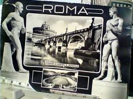 ROMA VRDUTE E STATUE  CON STADIO DEI MARMI V1960 FN3940 - Stades & Structures Sportives