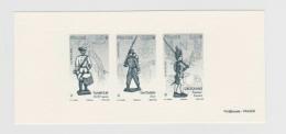 2012 - GRAVURE OFFICIELLE - Les Soldats De Plomb - N° YT : 4668 Et 4669 Et 4670 - Epreuves De Luxe